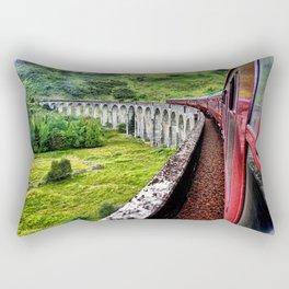 All Aboard The Hogwarts Express Rectangular Pillow
