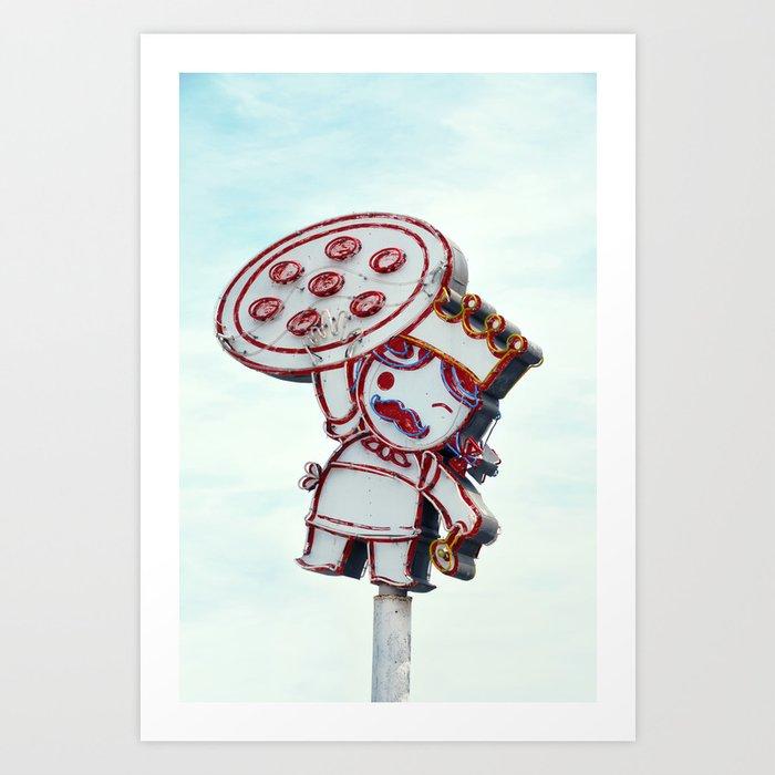 pizza Kunstdrucke
