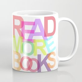 READ MORE BOOKS Coffee Mug