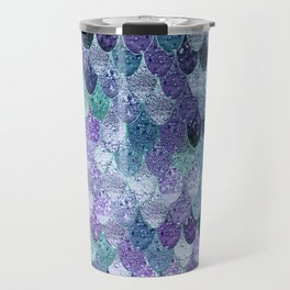SUMMER MERMAID  Purple & Mint by Monika Strigel Travel Mug