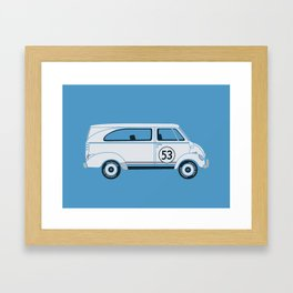 Herb The Love Van Framed Art Print