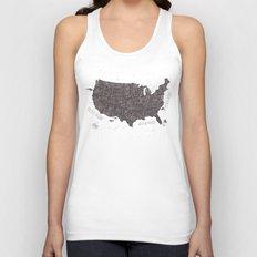 USA Unisex Tank Top