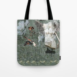 Dionysus and Apollo Tote Bag