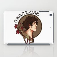 grantaire iPad Cases featuring grantaire by chazstity