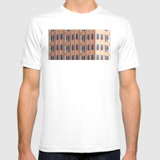 Building to Building: Church MEDIUM White Mens Fitted Tee