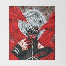 Tokyo Ghoul - Ken Kaneki Throw Blanket