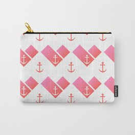 Florida Scarf Anchor Pattern Carry-All Pouch
