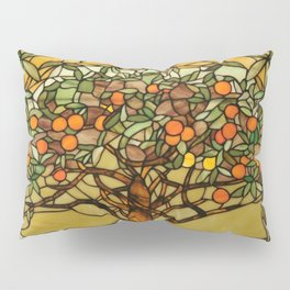 Louis Comfort Tiffany - Decorative stained glass 6. Pillow Sham