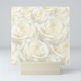 Ivory Roses Mini Art Print