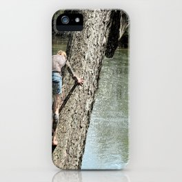 The climb revisited iPhone Case