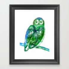 Eule | Owl Framed Art Print