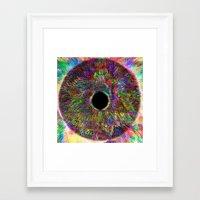 iris Framed Art Prints featuring Iris by J.Lauren