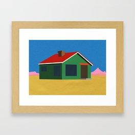 Joshua Tree House Framed Art Print