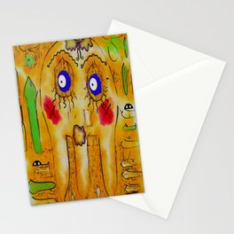 Mr.Sea Jelly and his friend bloom Stationery Cards