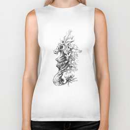 Vicentije Water Dragon Biker Tank