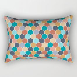 Colorful palette Rectangular Pillow