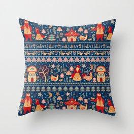 Fairytale Story. Throw Pillow