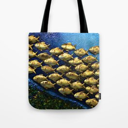 And They Swam  Tote Bag