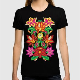 Mexican Exotic Flowers T-shirt