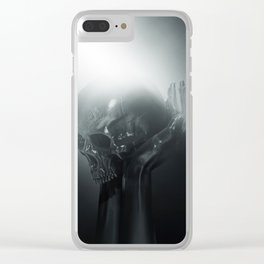 CREATOR & DESTROYER Clear iPhone Case
