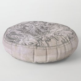 Vintage Constellations & Astrological Signs | Beetroot Paper Floor Pillow