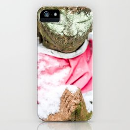Frozen Prayer iPhone Case