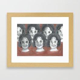 Number 12 looks just like you Framed Art Print