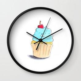 Cupcake honey Wall Clock