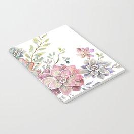 succulent watercolor 6 Notebook
