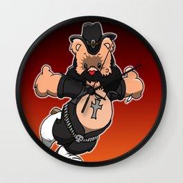 Lemmy Bear Wall Clock