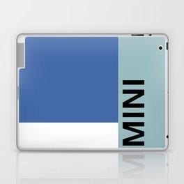 MINI 'BLUE Color-block' Collection Laptop & iPad Skin