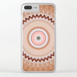 Recreational Maylanta Mandala 115 Clear iPhone Case