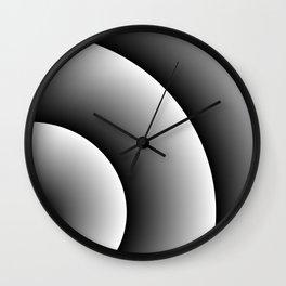 Love Swirl Wall Clock