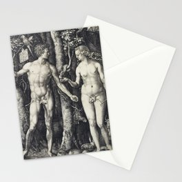 Albrecht Dürer Adam and Eve Stationery Cards