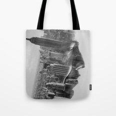Vision mono Tote Bag