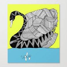 Ugly Swan Canvas Print