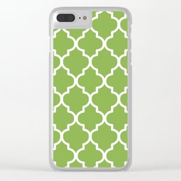 Pantone 2017, Greenery 2 Clear iPhone Case