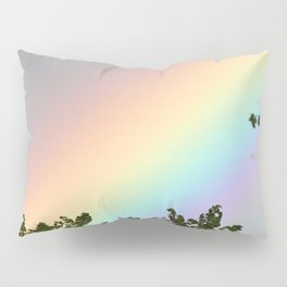 Pastel Natural Rainbow Pillow Sham
