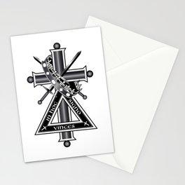 Freemasonic cross Stationery Cards