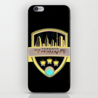 gaming iPhone & iPod Skins featuring Toronto Gaming by rramrattan