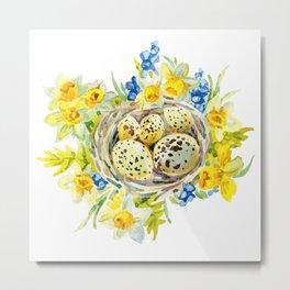 Nest Egg Metal Print