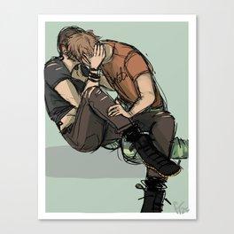 Ronan and Adam Canvas Print