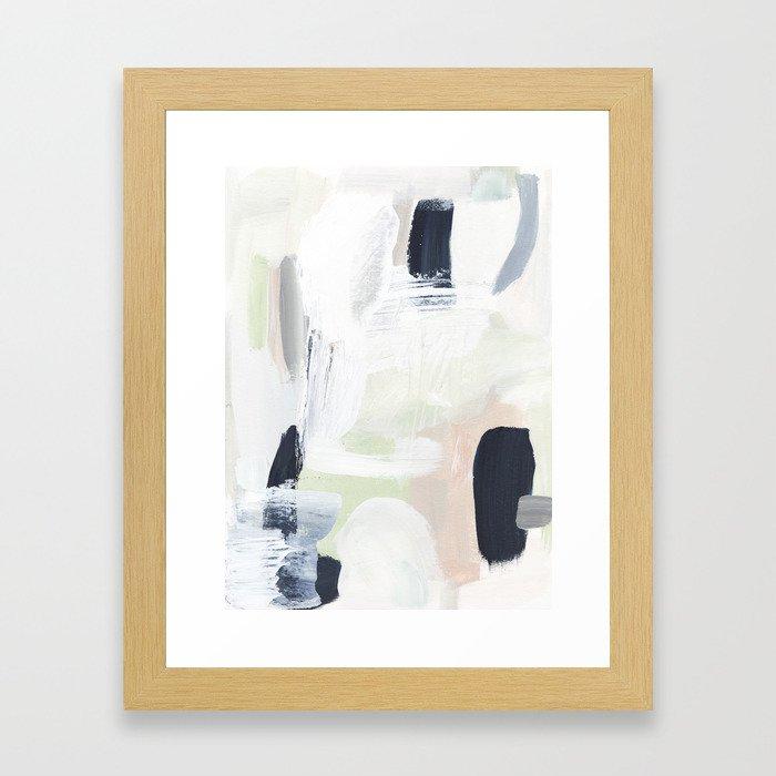Sand & Sage Framed Art Print
