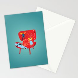 Memoir time Stationery Cards