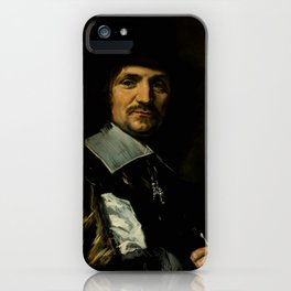 "Frans Hals ""Portrait of Painter Jan Asselyn"" iPhone Case"