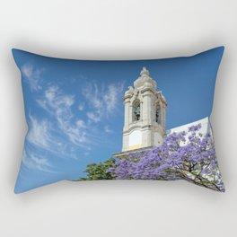 Do Carmo church, Faro Rectangular Pillow