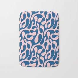 Blush & Blue Spilled Bath Mat