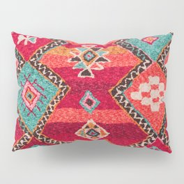 18 - Traditional Colored Epic Anthique Bohemian Moroccan Artwork Pillow Sham