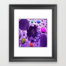 Purple Blossom Framed Art Print