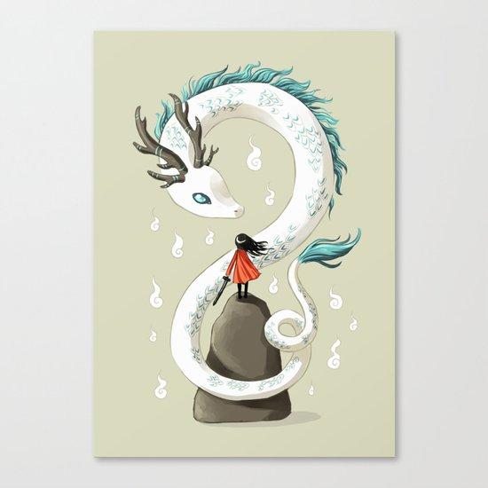 Dragon Spirit Canvas Print